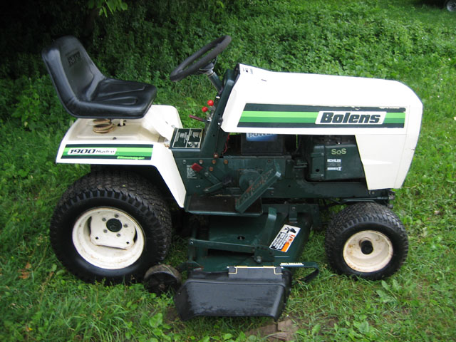 Bolens Lawn Tractor : Nature picture bolens garden tractor